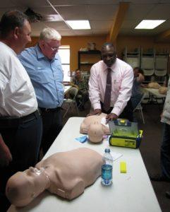 CPR & Defibrillator Training 2013!