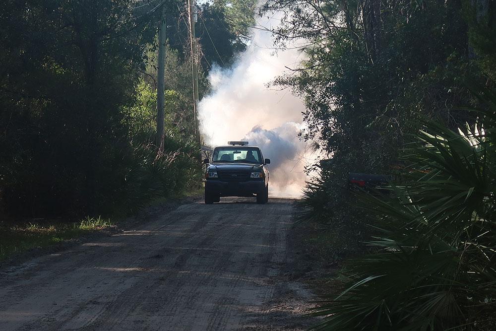 truck fogging