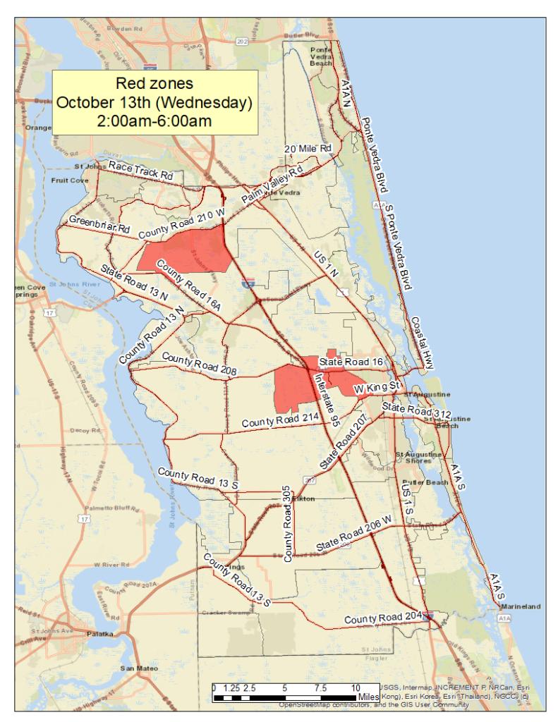 Fog map October 13